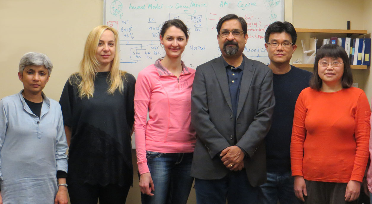 Image of Dr. Rao lab members
