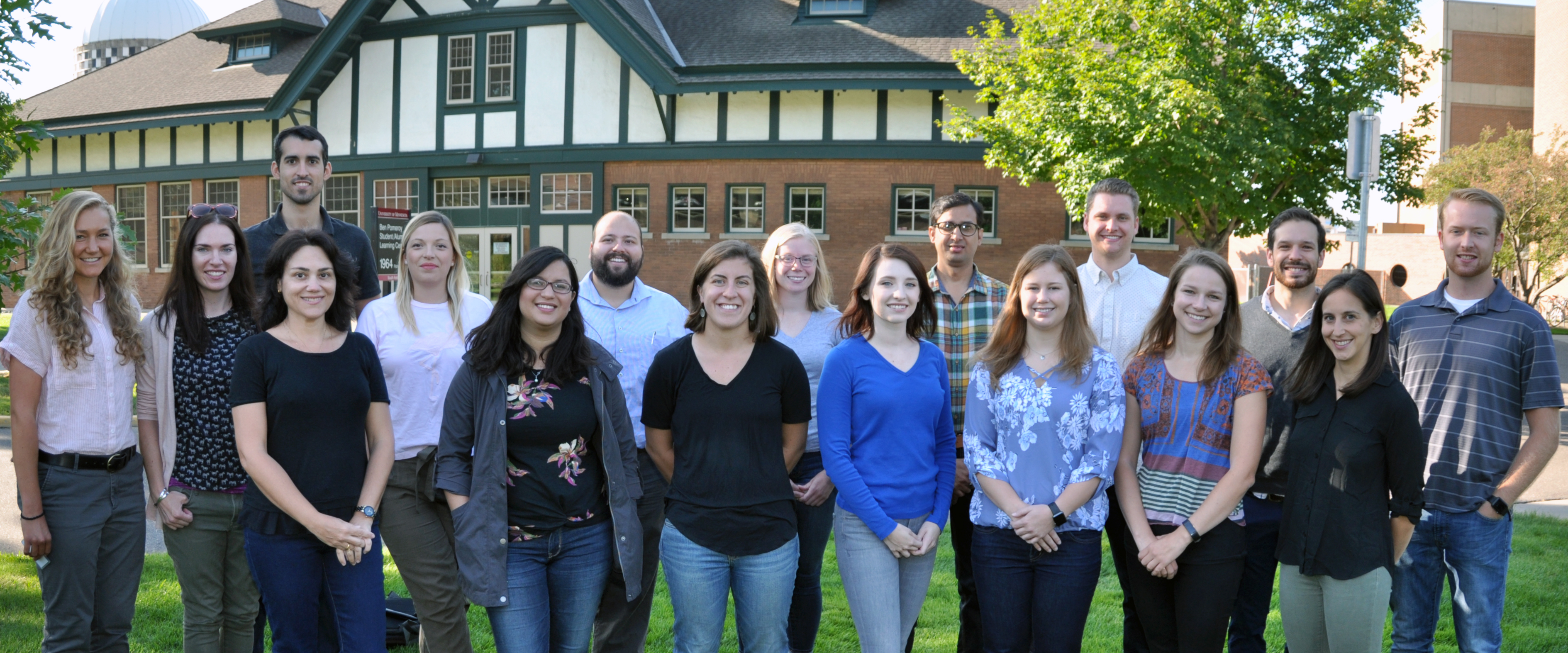 new CVM graduate students