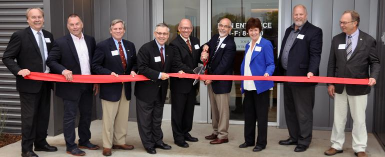 Ribbon cutting at the MTPL grand opening