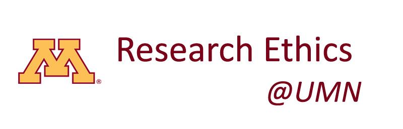 Link to University of Minnesota Research Ethics website