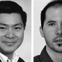 Portraits of Dr. Ly and Dr. Meyer