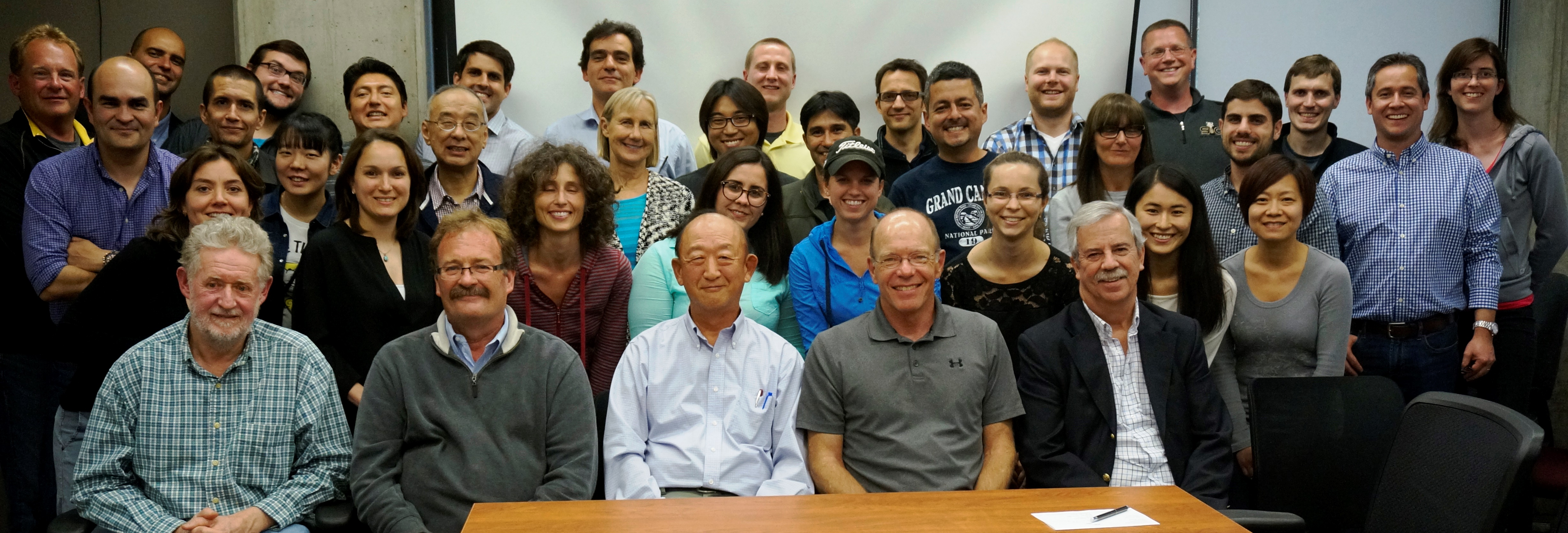 Picture of the swine faculty, staff, students